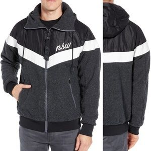 Nike NSW Windbreaker Fleece Zip Jacket
